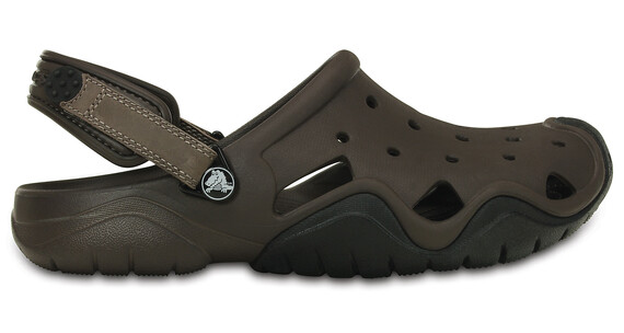 Crocs Swiftwater Clogs Men Espresso-Clay
